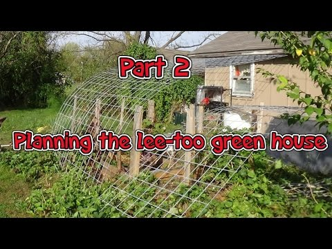 Do it yourself greenhouse plans (Part 2)