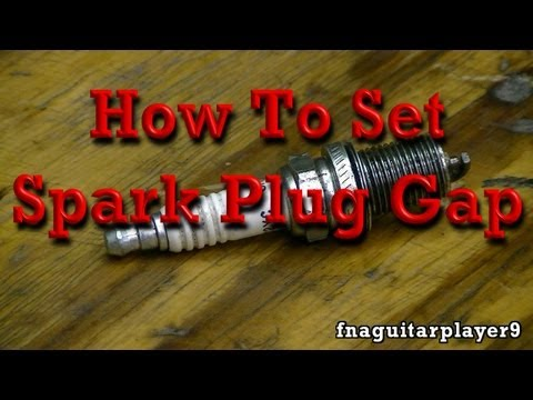 How to Set Spark Plug Gap (in any engine)
