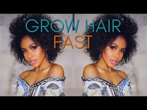 How to Grow Your Hair Out so Fast 2018