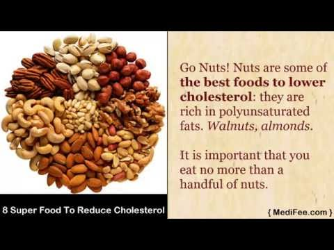 List of 8 Super Food that Reduce Your Cholesterol Level