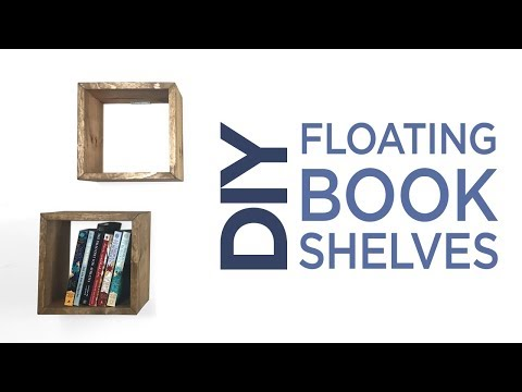 Simple Floating Book Shelves | 18 | The Cutting Bored