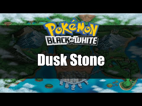 Pokemon Black and White | Where to get Dusk Stone