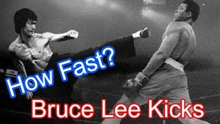 How Fast Is Bruce Lee Kicks?