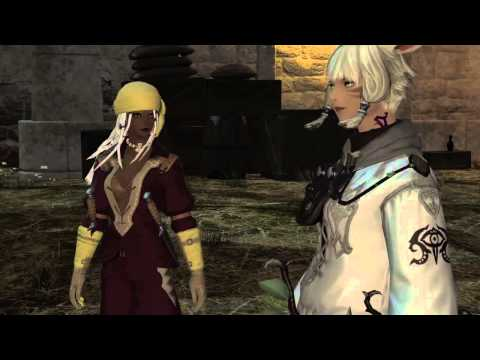 Hair Blowing in Wind FFXIV: ARR
