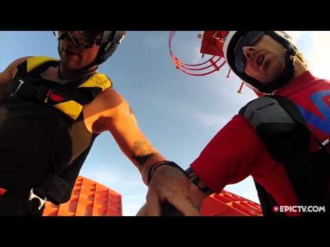 These BASE Jumpers Learn The Hard Way To Never Piss Off A Hawk | EpicTV Choice Cuts