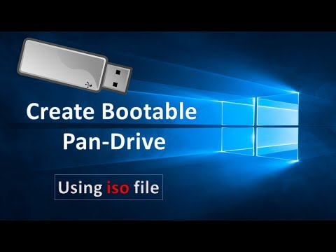 [Hindi] How to: Create bootable pandrive using ISO file !!
