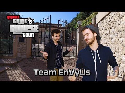 Team EnVyUs HyperX Gaming House Tours