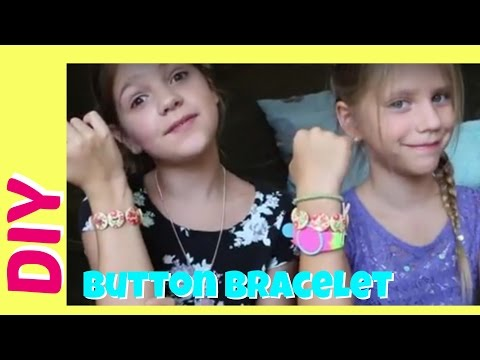 DIY Bracelet Giveaway | How To Make & Win Bracelets with Buttons and String | best friends