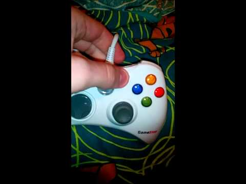 New gamestop Xbox 360 wired controller review