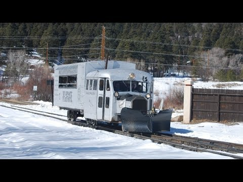 Rio Grande Southern Galloping Goose #5 on the D&SNG 2/24/18
