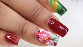 Nail Art Desingns Acrylic Nails Decorated Short Unas Acrilicas