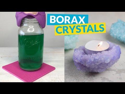 Borax Crystals