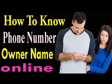 How to Know Phone Number Owner Name |  Show Mobile Number  Information