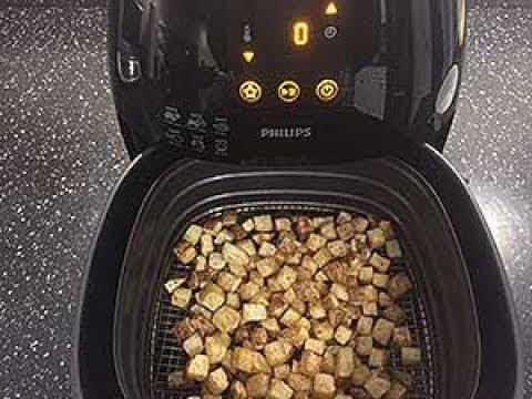 Phillips XL Air Fryer | Crispy Homemade Hash Brown Potato