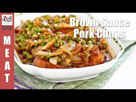 Brown Sauce Pork Chops | RotiNRice