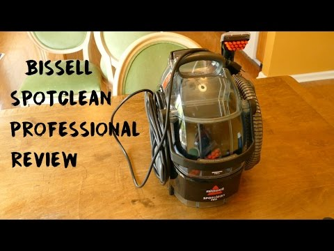 Bissell SpotClean Professional Portable Carpet Cleaner REVIEW
