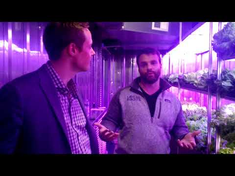 Join us as we check out Local Roots shipping container farms