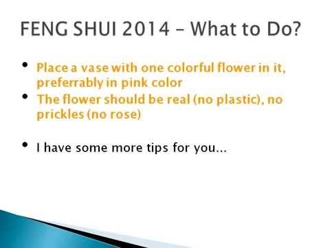 Feng Shui 2014 - Improve Your Love & Relationship