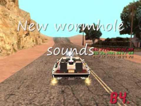 BTTF mod new delorean sounds