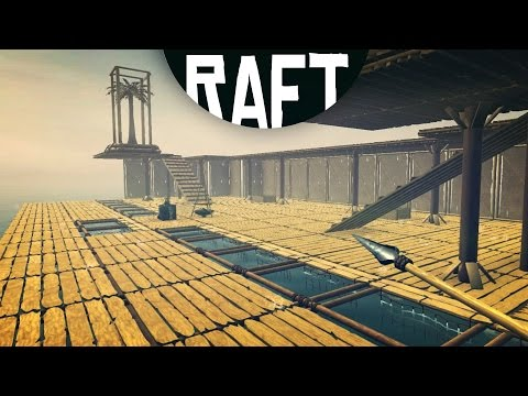 RAFT - THE BIGGEST BUILD IN RAFT HISTORY! (Raft Game / Raft Gameplay)
