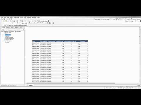 Web Intelligence - YTD Calculation