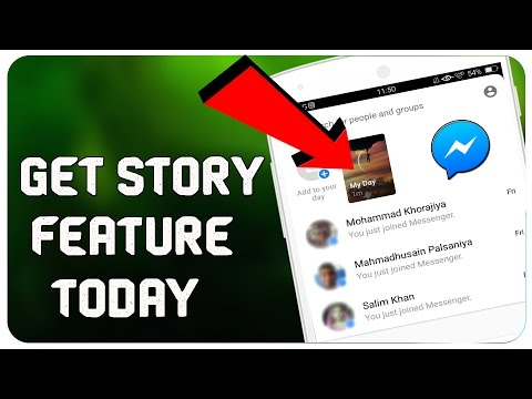 How to GET And USE Facebook Messenger Day Update Feature(Stories) On Your Smartphone
