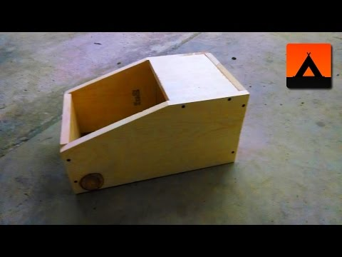 Build a Rabbit Nesting Box Using a Single Plank