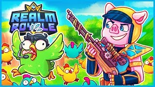 TURNING PEOPLE into CHICKENS in Realm Royale! (Realm Royale Funny Moments & Fails)