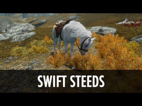 Skyrim Mod Spotlight: Swift Steeds - New Light Breeds Non-Replacer