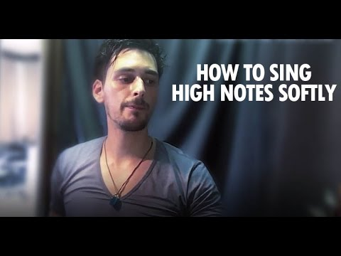How to sing high notes softly / Phil Moufarrege @ GROW-THE-VOICE.com