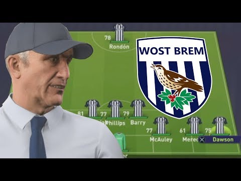 FIFA 18 - WEST BROM CAREER MODE #1