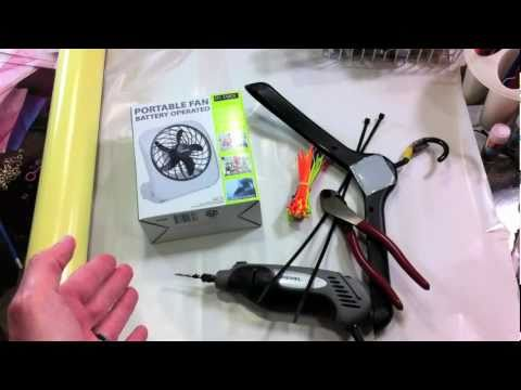 How To Make a Portable Wetsuit Dryer