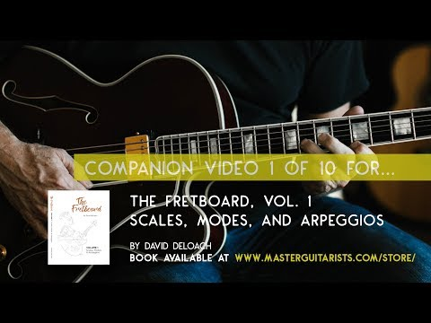 Part 1 of 10: Tutorial for THE FRETBOARD, VOL 1. by David DeLoach