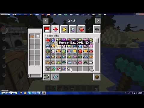 How to make Some Pokeballs in Pixelmon Minecraft