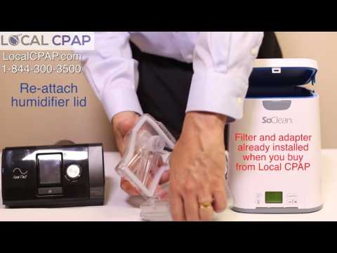 SoClean 2 CPAP Cleaner for Resmed Airsense 10 & Aircurve 10