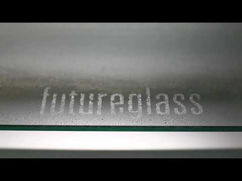Futureglass surface treatment on glass. Easy clean, fingerprint reduction.