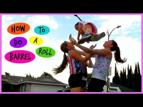 How to do a Barrel Roll | Cheer Stunt |TheCraftingCheerleader