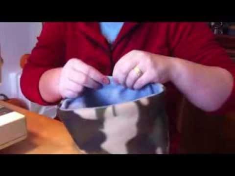 How to Make a Hedgehog Snuggle Bag