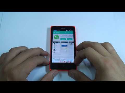 Install Whatsapp on Nokia X , XL , X+
