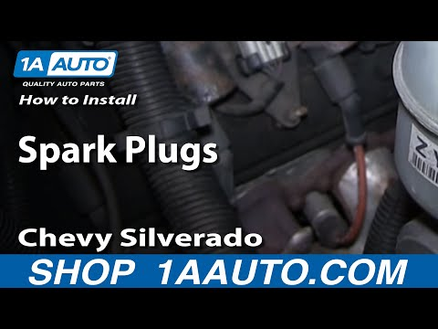 How To Install Replace Spark Plugs Chevy Silverado GMC Sierra 4.8L 5.3L 6.0L