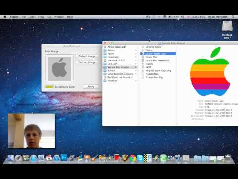 how to change boot logo on mac