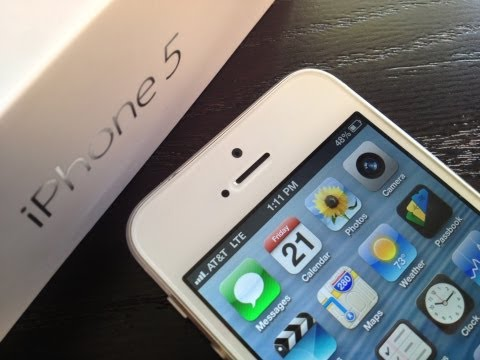 New iPhone 5 LTE 4G Speed Test Review