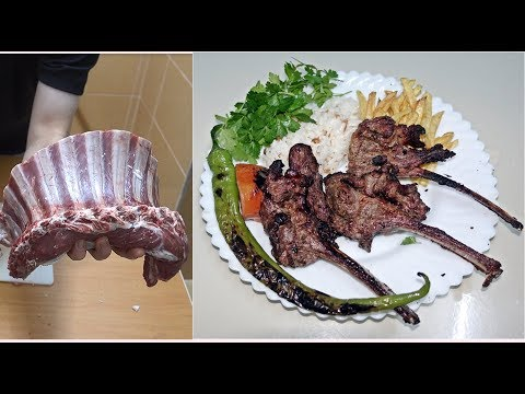 Lamb Chop Barbecue Gril Recipe