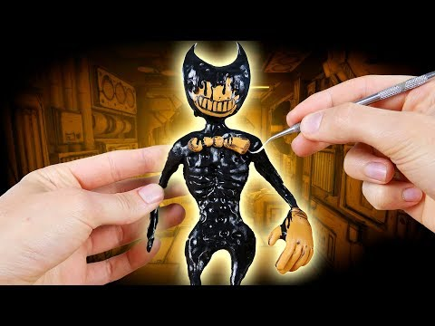 Making NEW Ink Demon Bendy from Bendy and the Ink Machine Chapter 4!