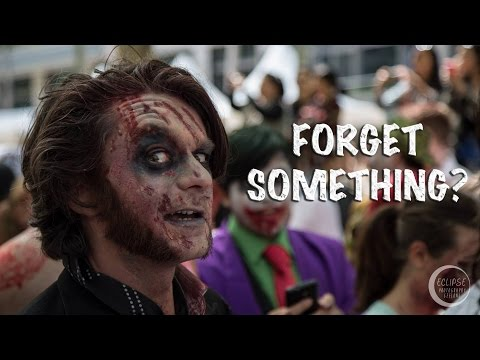 EASY ZOMBIE Makeup and Costume