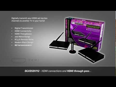 NO WIRES HDMI - Hide TV Cables and Create Multi-room TV with a HDMI Video Sender