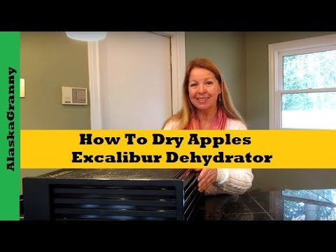 How To Dry Apples Excalibur Dehydrator