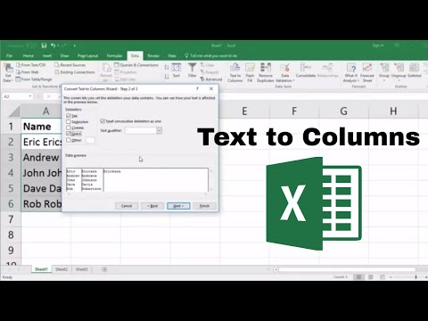 Text to Columns Excel: How to Split Data