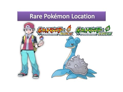 Pokemon FireRed and LeafGreen - How to Get Lapras