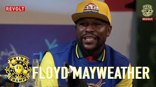 Floyd Mayweather Talks Being An Undefeated Champ, 50 Cent, T.I & More   Drink Champs
